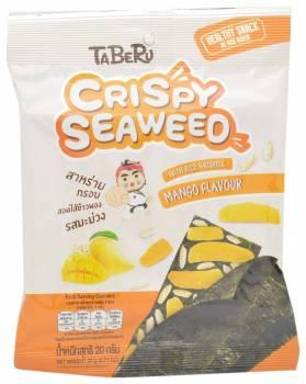 Taberu, Mango Flavored Crispy Seaweed with Rice Krispies, Thailand
